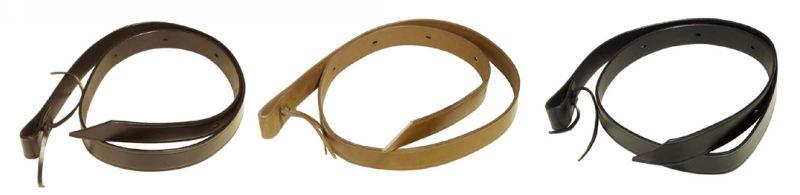 Tie-Strap * Leder * 180 cm x 3,5 cm - Qualität von PFIFF