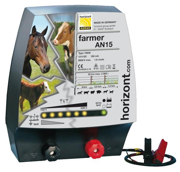 Farmer AN15 * Akku-/Netzgerät mit Stromsparschaltung - Qualität von HORIZONT