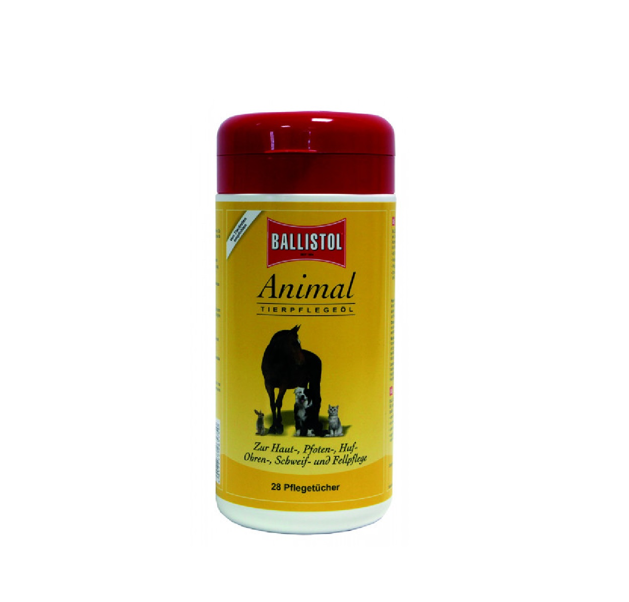 BALLISTOL Animal * Tierpflege-Öl-Pflegetücher - Qualität von BALLISTOL