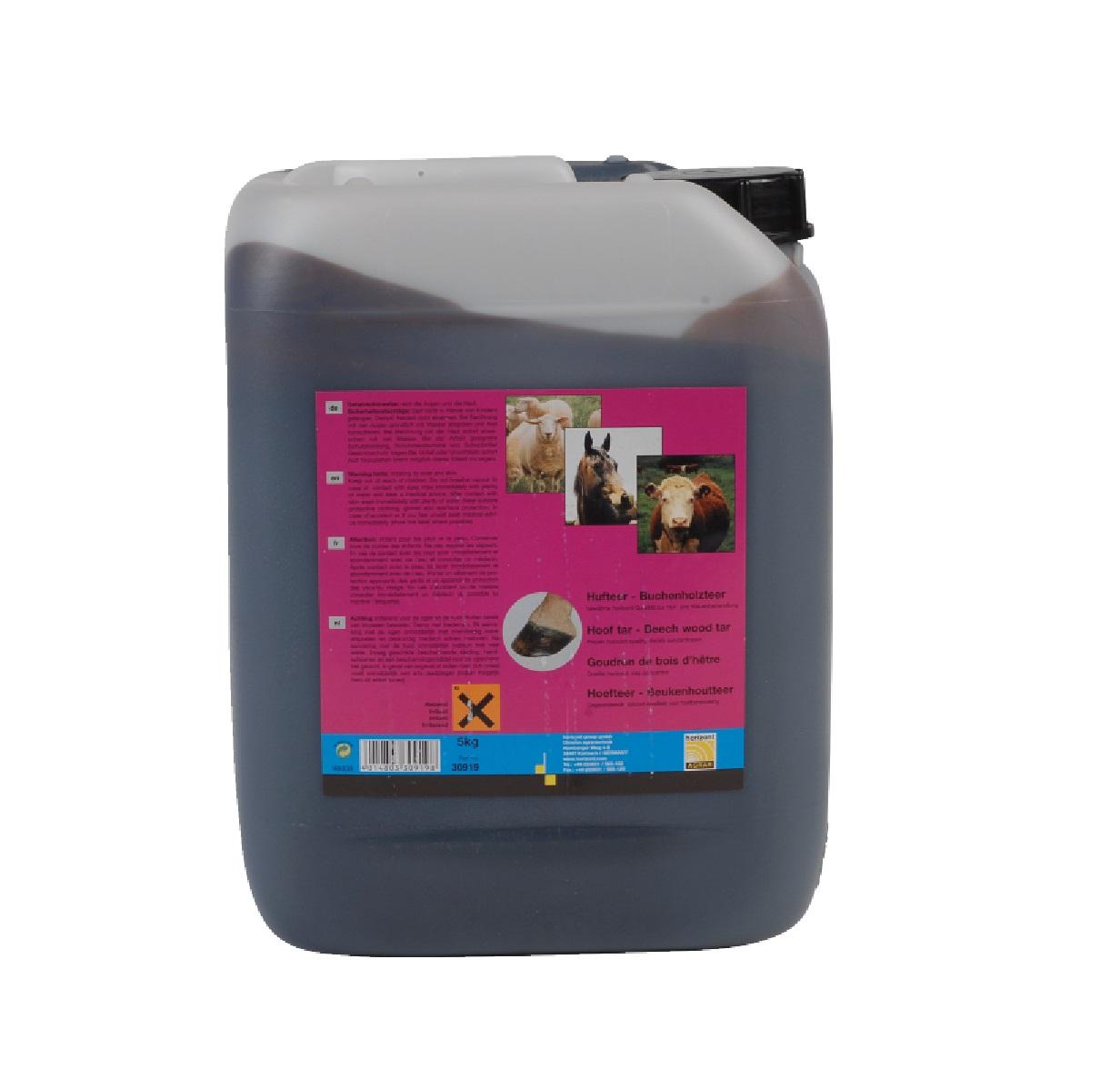 Buchenholzteer zur Huf-/Klaufenbehandlung 5 kg  - Qualität von HORIZONT