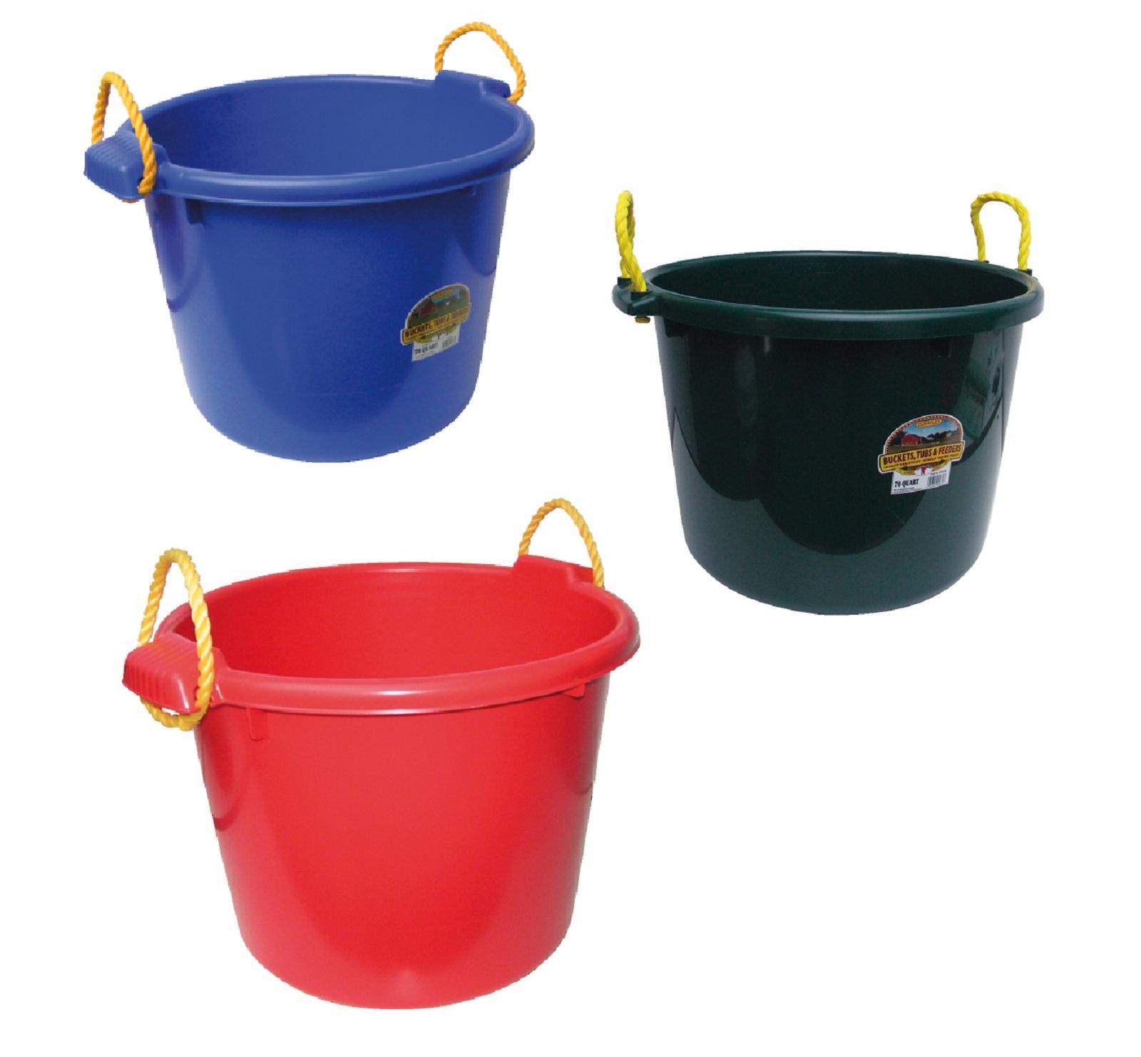 Allzweckeimer aus Kunststoff 70 Liter * versch. Farben - Qualität von HORIZONT