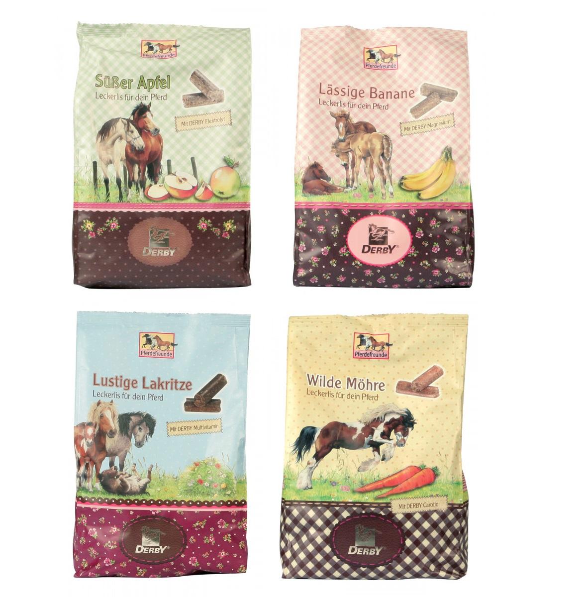 Leckerlis für Pferde * verschiedene Geschmackssorten - Qualität von PFIFF