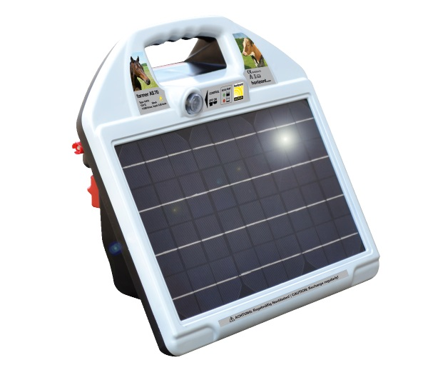 farmer AS70 * Solargerät mit 12V Akku, Ladegerät Zubehör - Qualität von HORIZONT