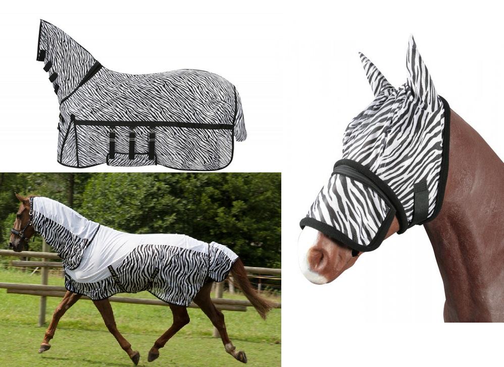 """Fliegendecke """"Zebra"""" """"Talulah"""" * Fliegenmaske """"Zebra"""" - Qualität von PFIFF"""