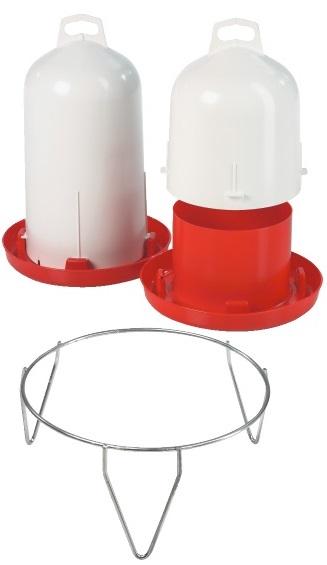 Tränke * Doppelzylindertränke Geflügel * Original Stükerjürgen -  HORIZONT