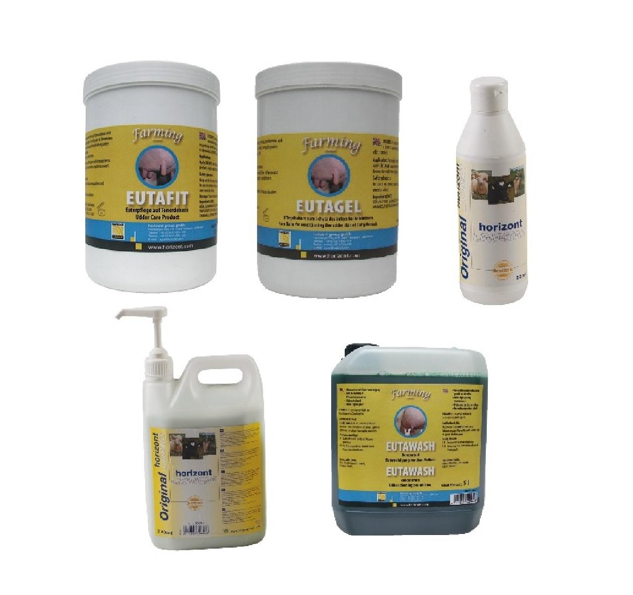 EUTAFIT  EUTAGEL  EUTAWASH Euterpflege - Qualität von HORIZONT
