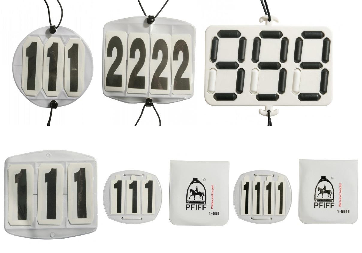 Falt-Kopfnummern * 6 Modelle - Qualität von PFIFF