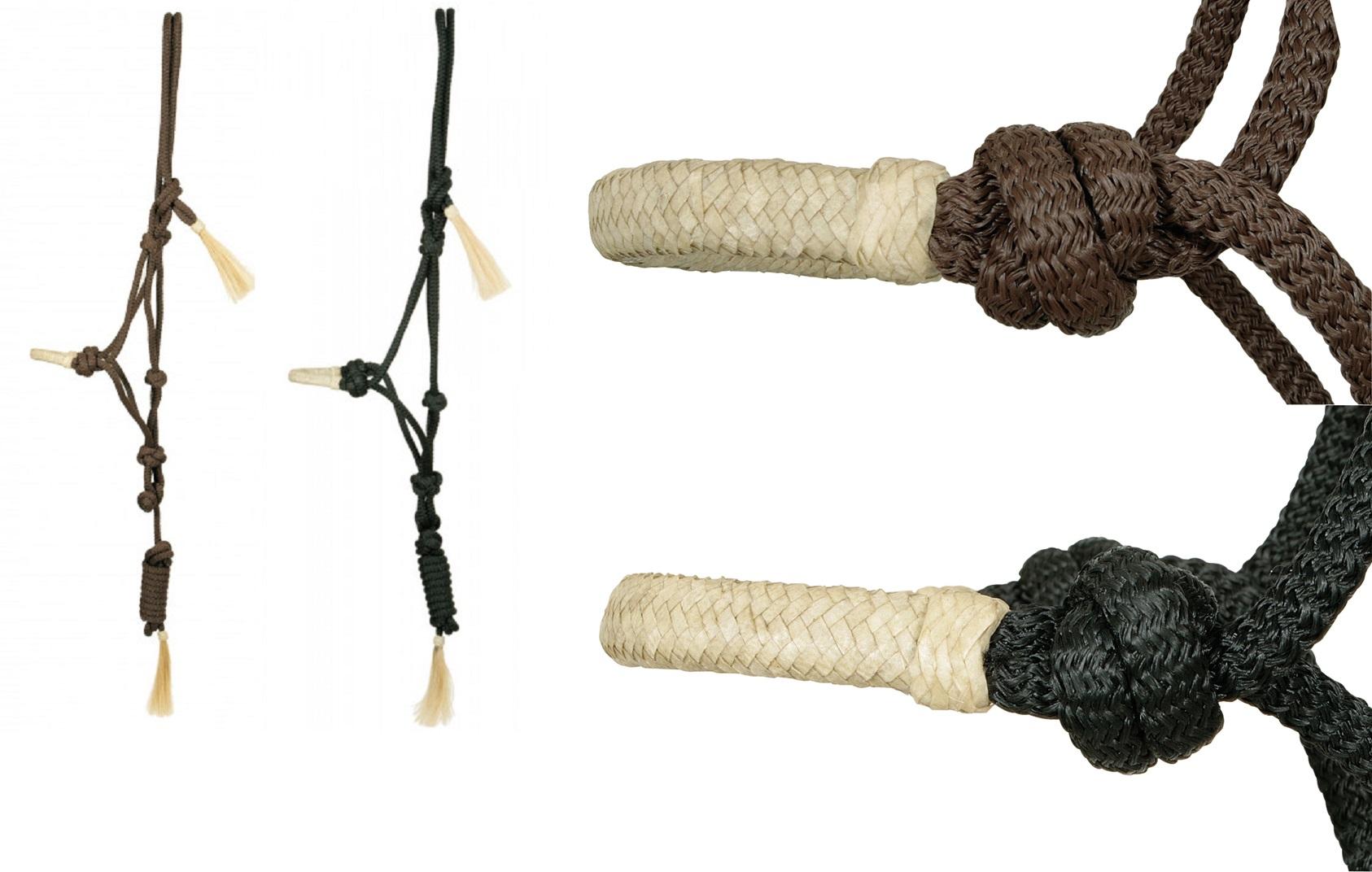 Knotenhalfter mit Rohhaut - Qualität von PFIFF
