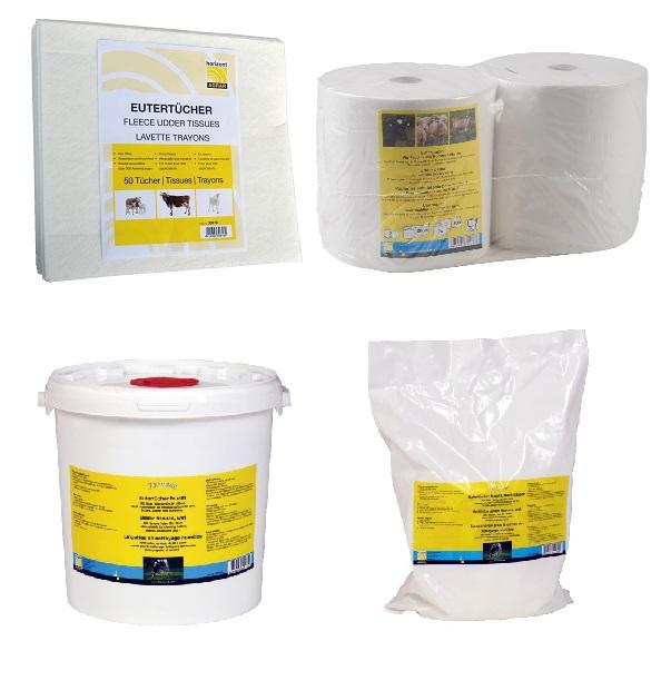 Eutertuch, Euterpapier, Feuchttuch - Qualität von HORIZONT